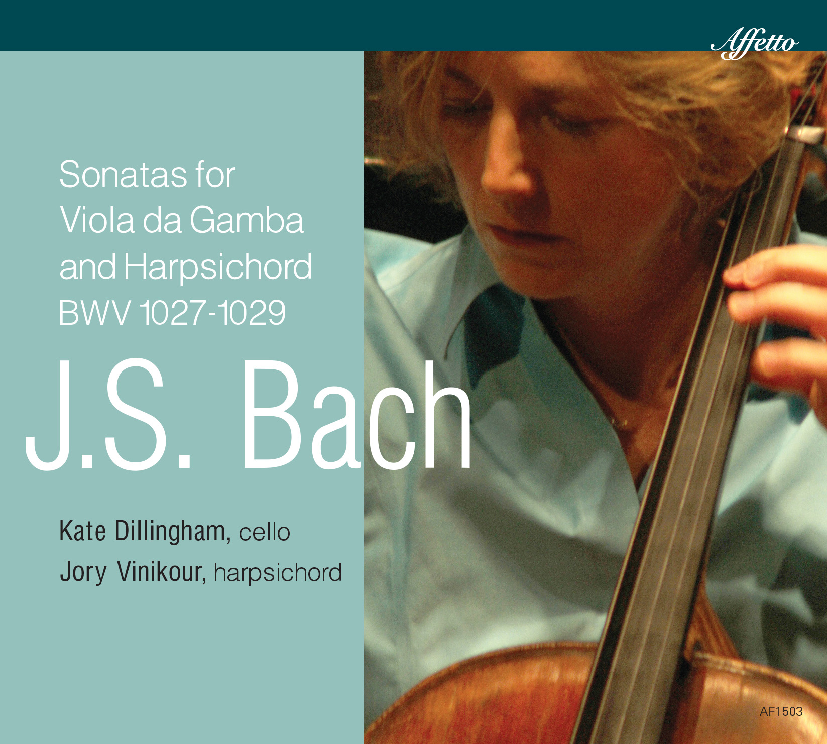 Johann Sebastian Bach: Sonatas for Viola da gamba and cello, BWV 1027 - 1029